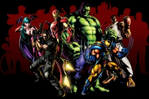 Marvel Vs Capcom 3 Fate Of Two Worlds Wallpaper