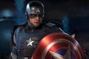 Marvels Avenger Captain America 4k