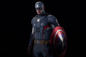Marvels Avenger Captain America 5k Wallpaper