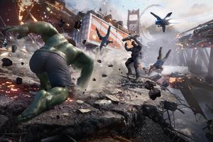 Marvels Avengers 2020 4k Wallpaper