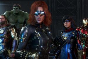 Marvels Avengers 4k Game