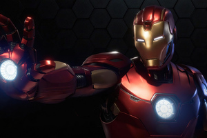 Marvels Avengers Iron Man 4k