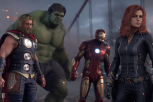Marvels Avengers Wallpaper