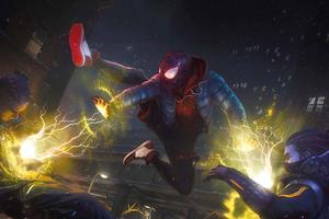 Marvels Spider Man Miles Morales 2020 Ps5 4k