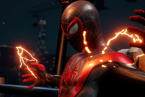 Marvels Spider Man Miles Morales 2020 Ps5 Wallpaper