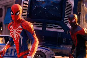 Marvels Spiderman Miles Morales 2020 Wallpaper