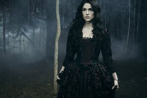 Mary Sibley Witch Wallpaper