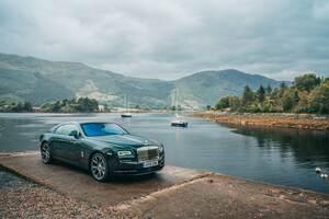 Mascot Rolls Royce Wraith Wallpaper