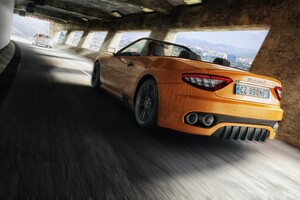 Maserati 3d Rednder Cg Art Wallpaper