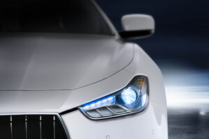 Maserati Headlights Wallpaper