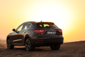 Maserati Levante S Q4 GranSport Rear Wallpaper