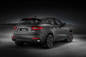Maserati Levante Trofeo 2018 Rear 4k Wallpaper