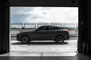 Maserati Levante Trofeo 2018 Side View Wallpaper