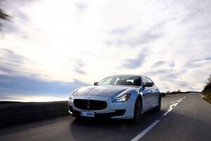 Maserati On Road Wallpaper