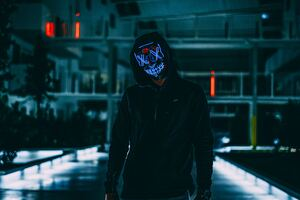 Mask Anonymous Hood 5k Wallpaper