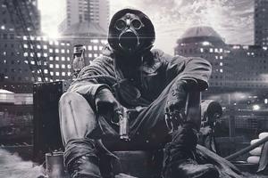 Mask Apocalypse 4k Wallpaper