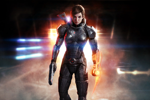 Mass Effect 3 Shepard Femshep HD
