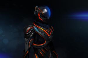 Mass Effect Andromeda 3d Art Wallpaper