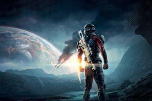 Mass Effect Andromeda 4k HD 2016 Game