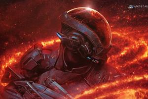 Mass Effect Andromeda RYDER N7 4k Wallpaper