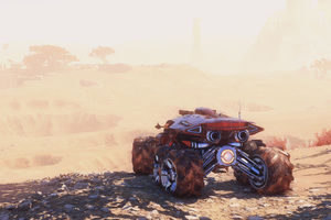 Mass Effect Andromeda Vehicles 4k