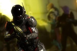 Mass Effect Andromeda Video Game 4k Fanart