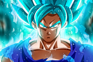 Mastered Super Saiyan Blue 5k Wallpaper