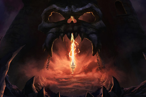 MASTERS OF THE UNIVERSE REVELATION Wallpaper