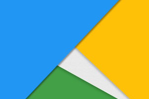 Material Design Bright Colors 4k