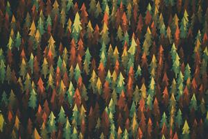 Material Design Forest Wallpaper
