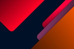Material Red Orange Colors 8k Wallpaper