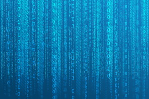 Matrix Code Binary Wallpaper