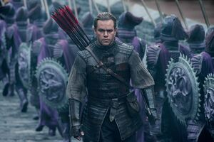 Matt Damon The Great Wall Wallpaper