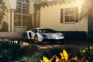 Matte Lamborghini Aventador