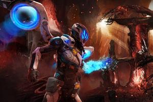 Matterfall Video Game Artwork Wallpaper