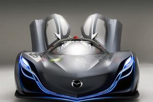 Mazda Furai Concept Car Open Doors Wallpaper