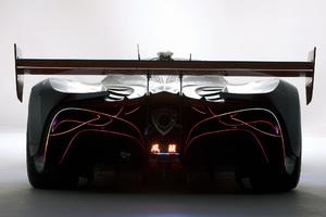 Mazda Furai Concept Sport Car Rear View Wallpaper
