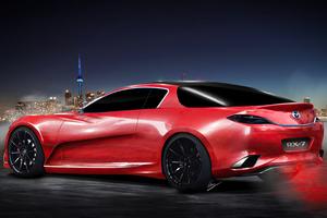 Mazda Rx7 Car Art 4k