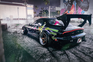 Mazda Rx7 Illegal On Street Nfs Wallpaper