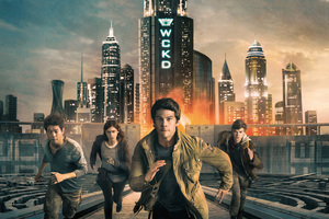 Maze Runner The Death Cure 2018 Movie 4k
