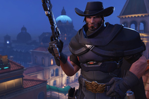 Mccree Overwatch 2018 8k