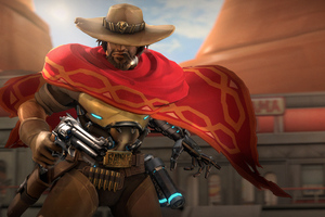 Mccree Overwatch 5k