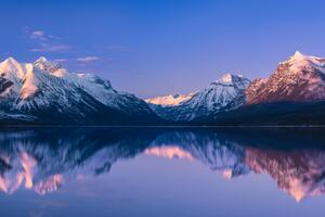 McDonald Lake Glacier National Park 5k Wallpaper