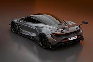 McLaren 2020 720S Widebody Kit 4k Wallpaper