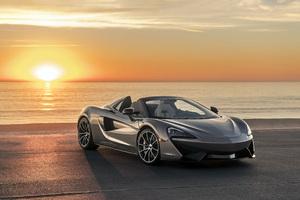 McLaren 570S Spider 2018 Front