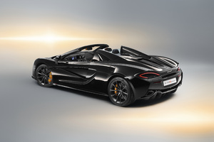 McLaren 570S Spider Design Edition 2018 Rear