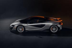 McLaren 600LT CGI Side View
