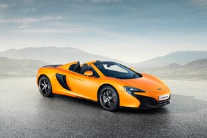 Mclaren 650S Spider Super Car Wallpaper