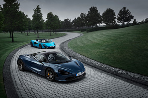 McLaren 720S And McLaren 570S Spider Wallpaper
