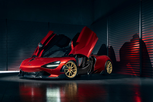 McLaren 720s For Vorsteiner 4k Wallpaper